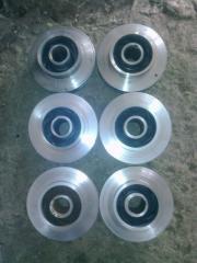 Spare parts of pumps TsNS