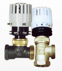Регулятор температуры радиатора (батарей) механические.
