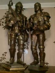Макеты рыцарей