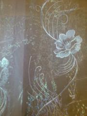"""Гардина """"наростающие цветы"""""""