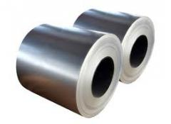 Steel coils of hot rolled steel