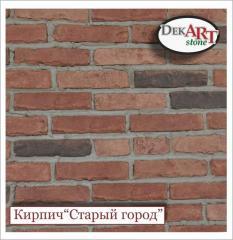 Brick decorative (artificial, facing)
