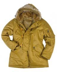 Jacket warmed (winter).