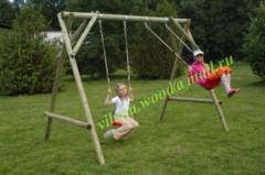 Kachelya is children's wooden double,