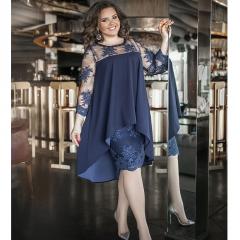 Эксклюзивное коктейльное женское платье