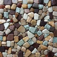 Галька разноцветная из разных пород камня