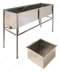 Стол для распечатывания сот (1,5 м , с глубокой