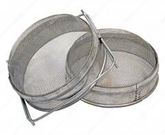 The filter two-section convex of stainless steel