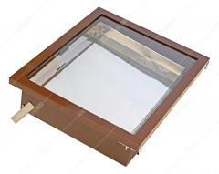 Воскотопка сонячна на 1 рамку,  с арматурой...