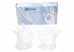 Gloves are polyethylene