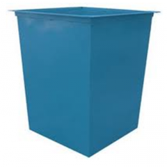 Garbage containers and ballot boxes
