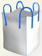 Мешки Биг-Бэг полипропиленовый четырехстропный с нашивными стропами. Заказать на Экспорт