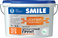 Soil plaster SG-23 adhesive acrylic SUPER-KONTAKT