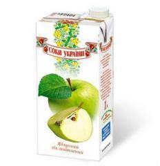 """Juice. Natural apple juice """"Juice of"""