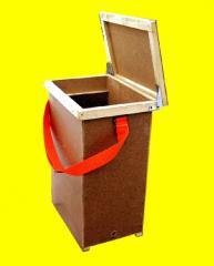 Box for a framework, Boxes for pchelopaket,