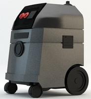 Industrial BDC-1114 Blastrac vacuum cleaner