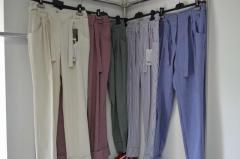 Trousers are narrow