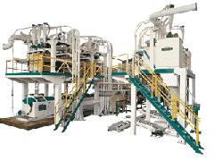Modular roller mill P6-AVM-50 for the preparation,