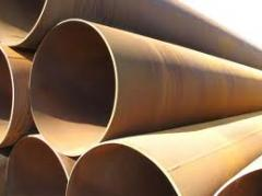 Pipes stale from 34х4 to 1200 in an excellent