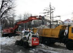 Reagents deicing - salt for posypaniye of roads,