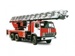 Автолестница пожарная АЛ-30
