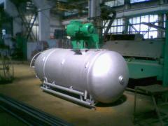 Pump oxygen, nitric, safety valve, stage filling
