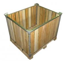 Boxes for vegetables, fruit and grain containers