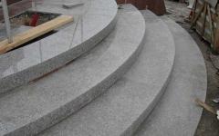Radial steps