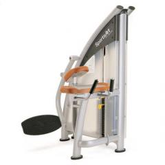 The exercise machine cargo block for buttock