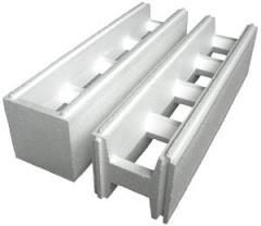 Thermoblocks from polyfoam polystyrene foam