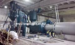Линия по производству топливных гранул 800-1000 кг