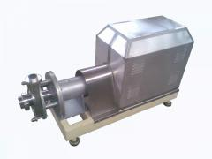 Equipment for the dairy industry. Emulsifying
