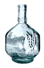 "Bottle glass ""Pomegranate"