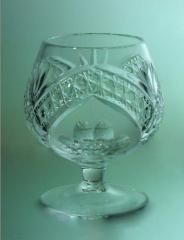 C0007|8 wine glasses crystal 250 g from the