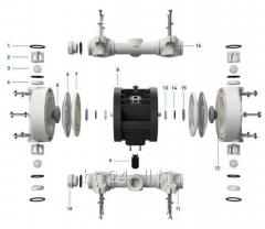 Koule-záklopky (sedla-koule) pro čerpadlo