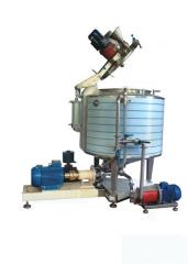 Equipment for the meat and dairy industry.