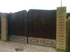 Ворота кованные. Воротные системы.