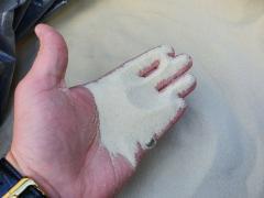 Песок кварцевый для керамических изделий