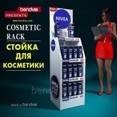 Vitriner for en kosmetikkbutikk