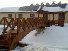 Конструкции деревянные массивные
