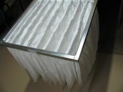Air filter pocket FPK