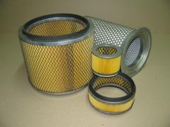 Filter cylindrical FPTs. Units and filters on
