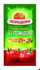 Tomato paste sasht 33 Tomatoes of 70 g