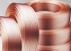 Tubes copper and brass thin-walled