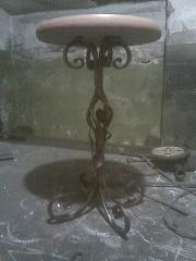 Мебель кованая уличная.