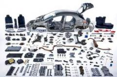 To buy the auto parts which were in the use, cues,