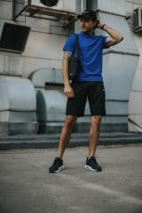 Костюм мужской Nike шорты, футболка электрик+
