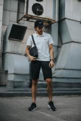 Костюм мужской Nike шорты , футболка белая +