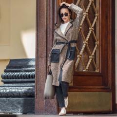 Пальто женское весеннее Вязаное Пальто «Кристоф»