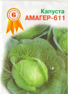 Seeds cabbage Amager 611